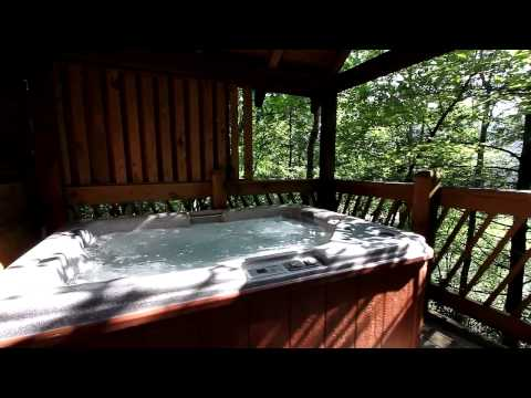 """Lovers Lane"" Mountain Shadows Resort 1 Bedroom Romantic Cabin -  Cabins USA 2014"