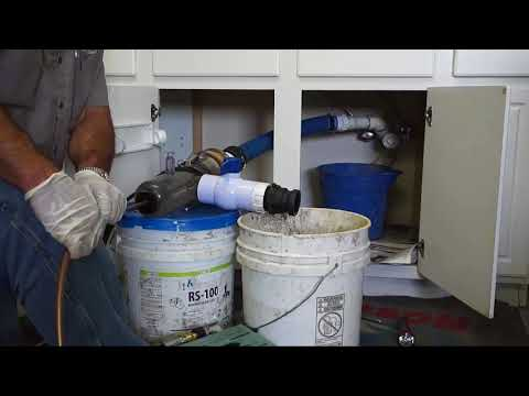 Jetting Clogged Kitchen Sink Lines with the ZipDrain  Jetter Tool