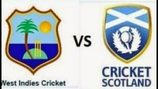 West Indies vs Scotland Super Sixes Match 7 Live Cricket Score 21.Mar.2018 Video