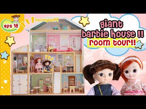 BARBIE DREAM HOUSE RUMAH BONEKA BABY DOLLHOUSE   Mainan Boneka Lucu