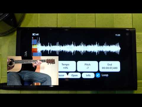 Music Speed Changer App for Nokia Meego (N9/N950)