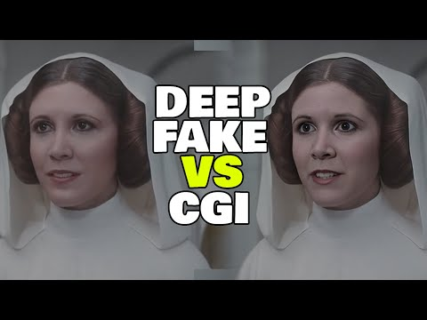 Princess Leia Fixed using Deepfakes