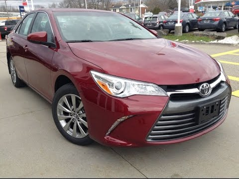New 2017 Toyota Camry Xle Review Ruby Red Flare 1000 Islands Brockville