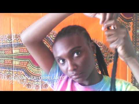 Watch Me Do My Hair Featuring: Janet Collection Rockin' Locs With 1 Month Review