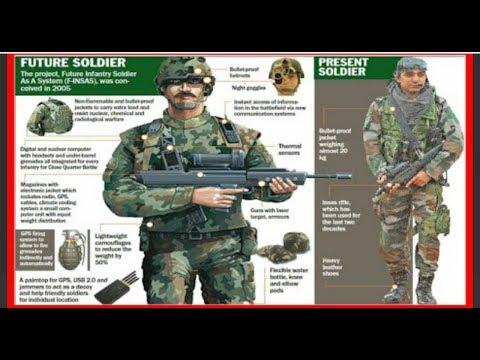 الجيش المغربي | قائمة معدات جندي المشاة كاملة