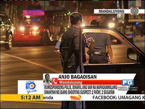 2 dead, 2 hurt as lawmen fire at wrong vehicle in Mandaluyong