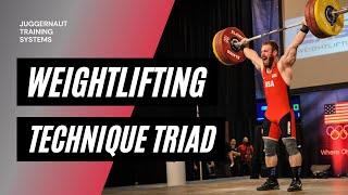 Weightlifting Technique Triad | JTSstrength.com thumbnail