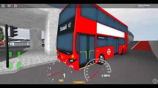 Roblox East London Project V3 MCV Evoseti Go Ahead London Blue Triangle Route 115 Return