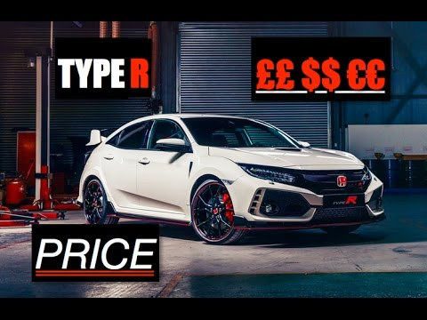 2018 Honda Civic Type R Price - Inside Lane