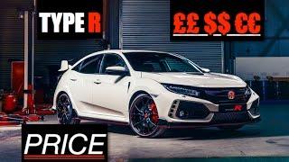2018 Honda Civic Type R Price - Inside Lane