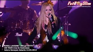 AVRIL LAVIGNE HELLO KITTY Opening Live In Jakarta Indonesia 2014