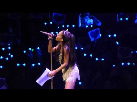"""Tattooed Heart"" Ariana Grande@Wells Fargo Center Philadelphia 3/12/15 Honeymoon Tour"