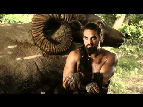 Game Of Thrones - Khal Drogo kills Mago