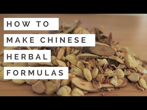 How to Make Chinese Herbal Formulas (Herbal Decoctions and T