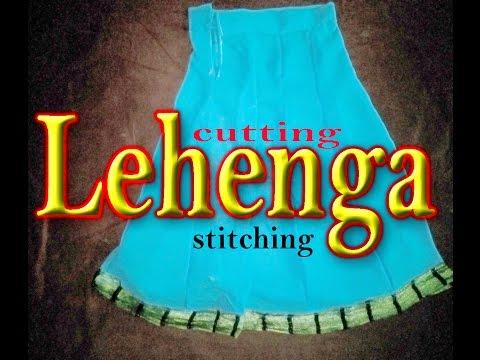 LEHENGA Cutting and Stitching