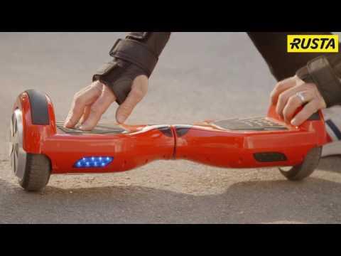 Instruktionsfilm: Hur man åker en hoverboard
