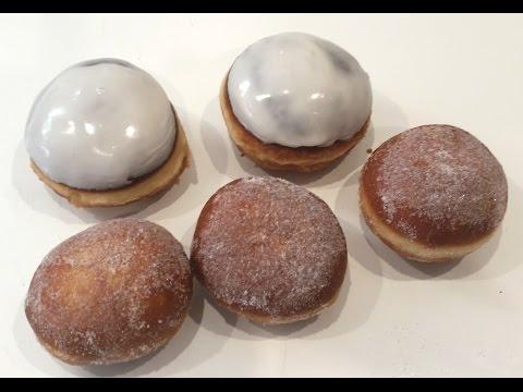 Berliner Pfannkuchen Krapfen Schritt für Schritt mit Rezept