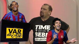 """DECO: """"R10 QUE PEGAVA MEUS REBOTES NO BARCELONA"""" - VAR do Alê Oliveira #30"""