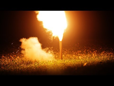 Making Fireworks out of Bamboo, Sulfur, Potassium Nitrate, and Charcoal