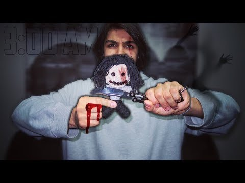 DO NOT USE A REAL LIFE VOODOO DOLL AT 3:00 AM | *THIS IS WHY* | 3 AM VOODOO DOLL CHALLENGE!