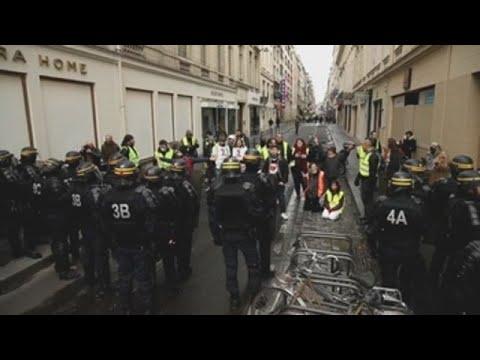 Polic�a de Francia detiene a unos 1.400 chalecos amarillos en protestas