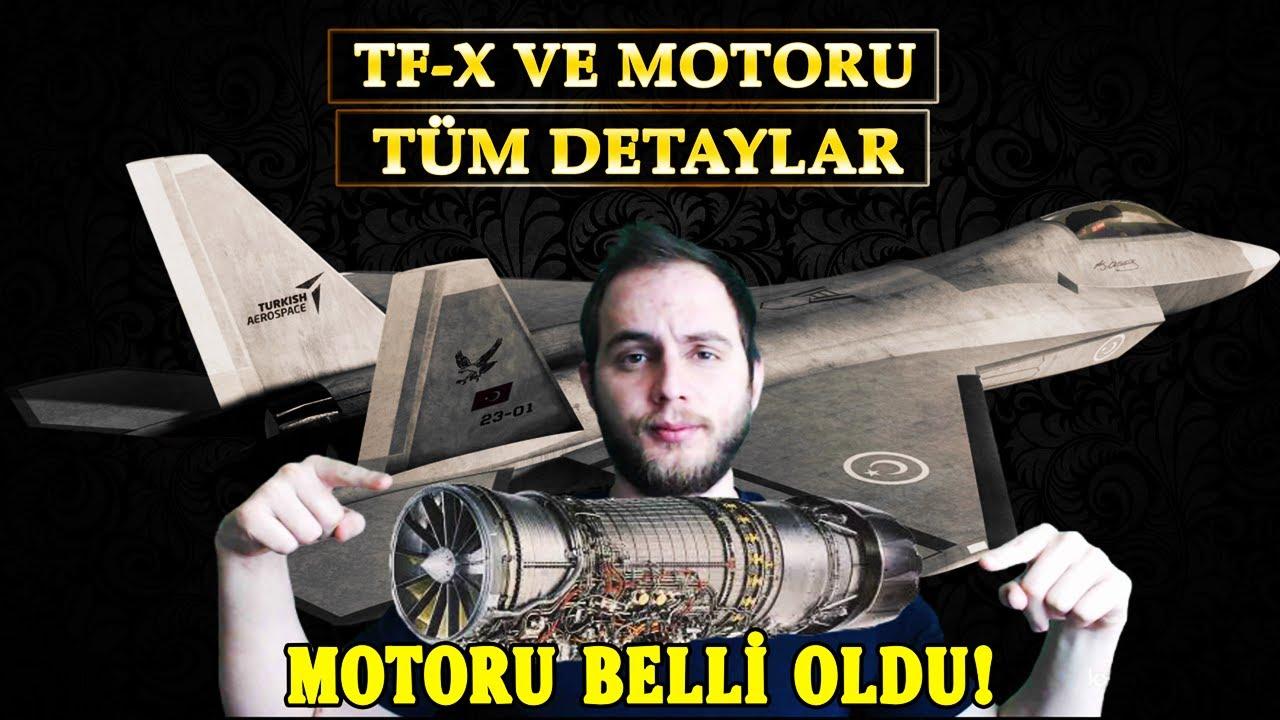 MİLLİ MUHARİP UÇAK VE F110 MOTORU TÜM DETAYLAR (TF-X)