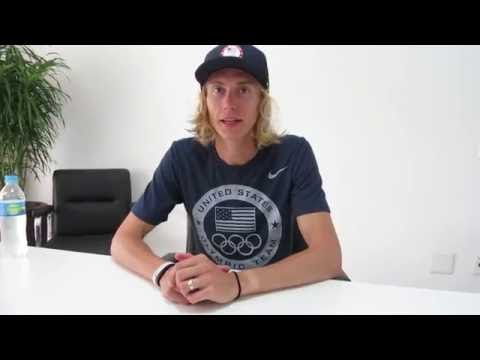 Evan Jager on taking steeplechase silver at the Rio Olympics