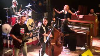 Linda Gail Lewis with lotta shaking at Rockabilly Special Hasselfelde 2011