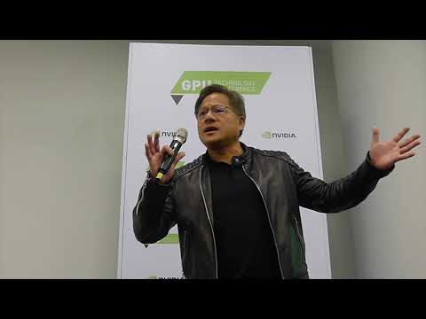 Jensen Huang - NVIDIA CEO - PRESS MEETING TEL-AVIV 2017