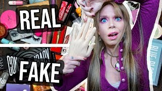 Is This Makeup REAL or FAKE? - Part 2