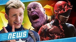 Netflix cancelt Marvel-Serien & Avengers 4 Comeback für Captain America - FLIPPS News