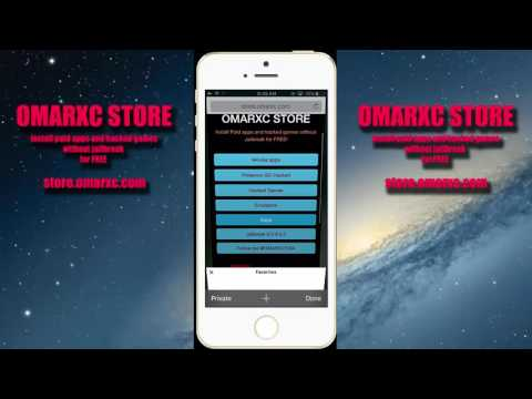 OmarXC store - Install apps without Jailbreak ios 10
