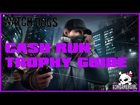 WatchDogs Cash Run EASY  (Gold Medal) PS4