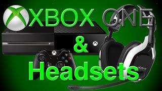 How to Set Up a Gaming Headset on XBOX ONE - Astro A40 - Astro A50 - Turtle Beach