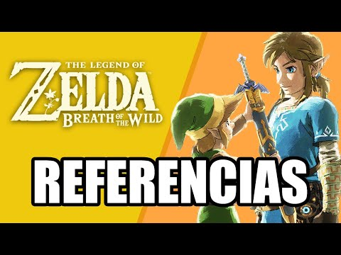 Referencias a otros juegos de Zelda en Zelda: Breath of the Wild