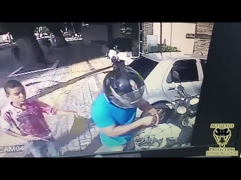 Grown Man on Moto Gets Carjacked by Tween | Active Self Protection