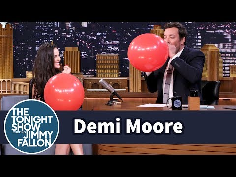 Demi Moore's Helium Interview