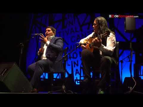 Manuel Cuevas  Mineras en la Final del Cante de las Minas 2018