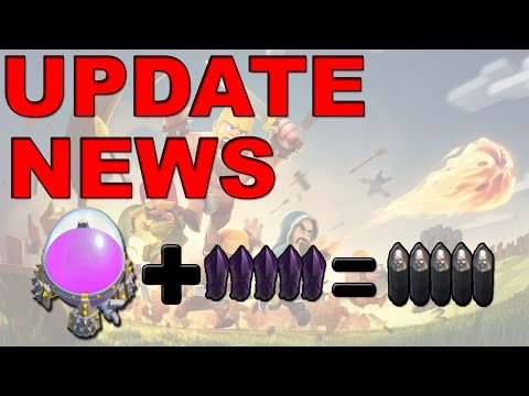 Update News - Walls Can Be Upgraded With Elixir! (Clash of Clans)