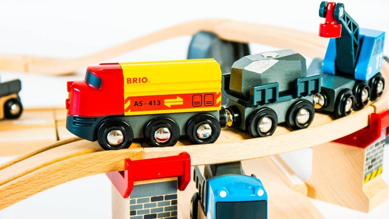 Brio Railway 33210 Rail Road Loading Set