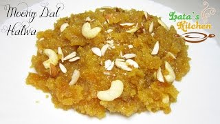 Moong Dal Halwa Recipe Video — Indian Dessert Recipe in Hindi with English Subtitles