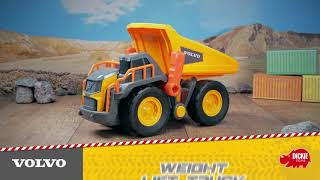 DICKIE Volvo Wywrotka Weight Lift Truck