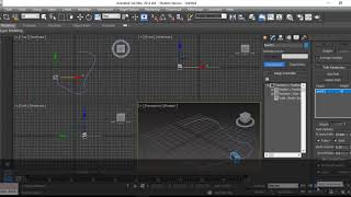 Path Constrain and Snapshot in 3ds Max