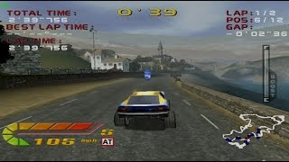 4 Wheel Thunder Gameplay Arcade Outdoor Series 1 (Dreamcast)