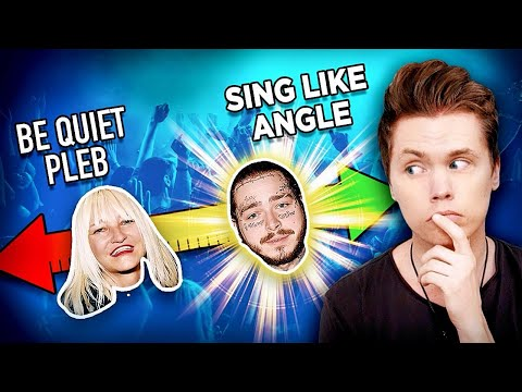 Ranking Singers With & Without Autotune (Post Malone, Sia & MORE)
