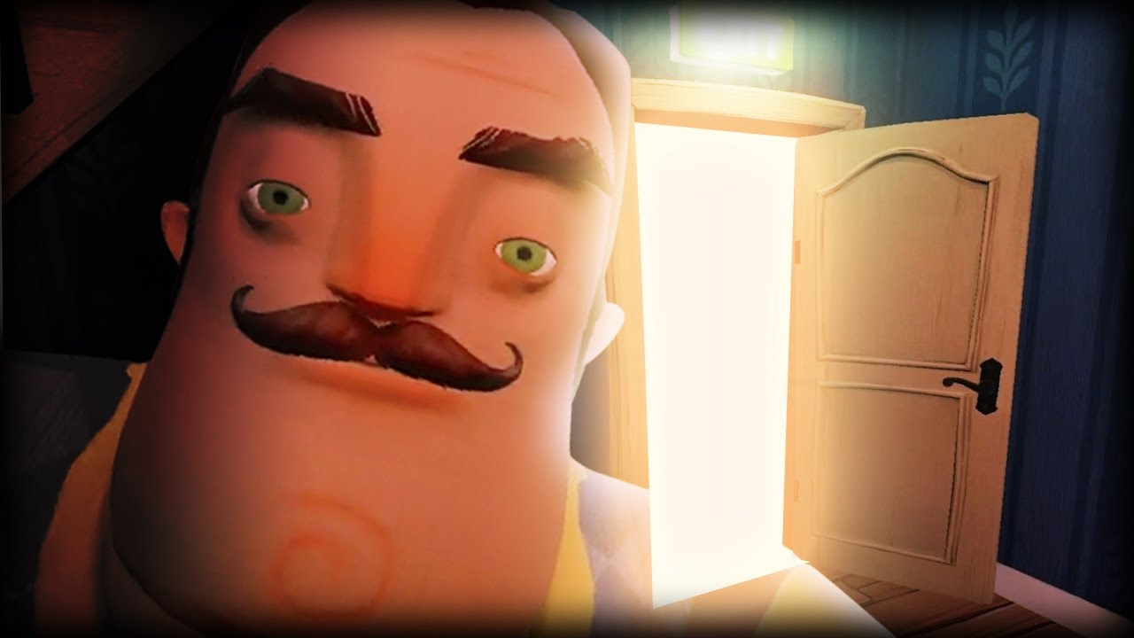 GETTING INTO THE LOCKED ROOM!! || Hello Neighbor (Pre-Alpha Ending)