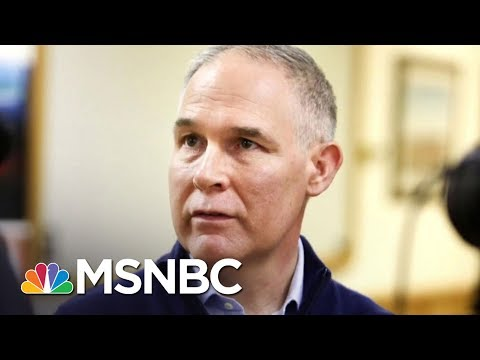 NYT: EPA Chief Requests Agency Memorabilia With More Scott Pruitt, Less EPA | MSNBC