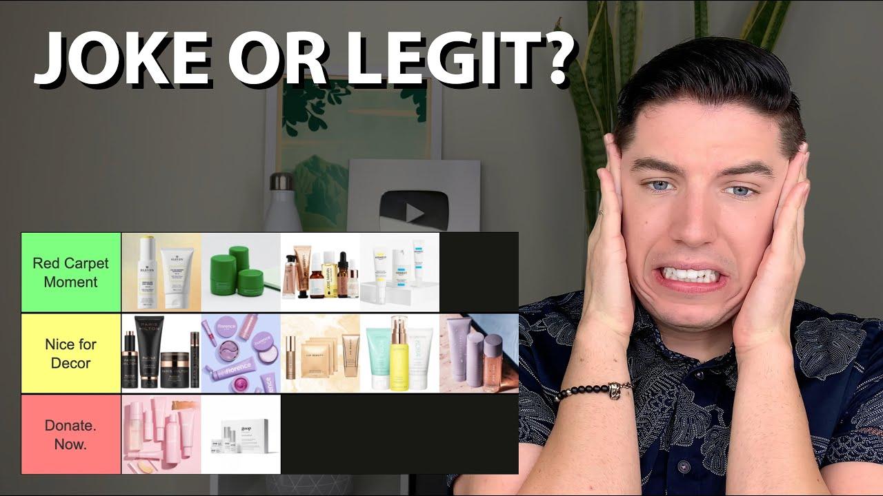 Rating the BEST & WORST Celebrity Skin Care Brands