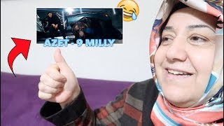 AZET - 9 MILLY   MEINE MUTTERS REAKTION !! 😱😂