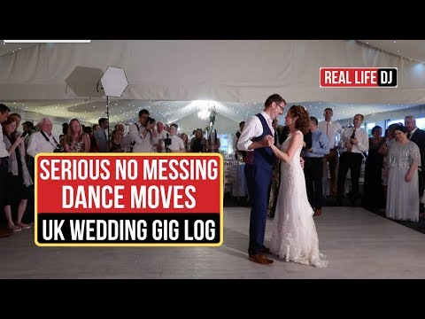 Energetic Wedding Guests | UK DJ Gig Log | Mobile DJ | Combermere Abbey Shropshire